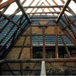 Dachstuhl (innen)