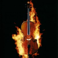 Huschke, brennendes Cello